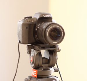 Canon DSLR camera for Ecamm Live live streaming