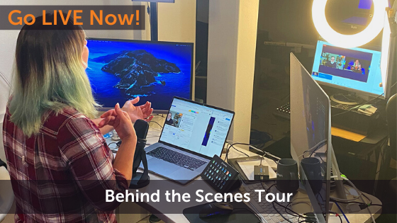 A Behind-the-Scenes Tour of Luria's Live Streaming Studio