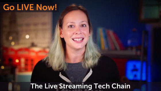 The Live Streaming Tech Chain