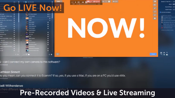 Pre-Recorded Videos and Live: Everything You Need to Know