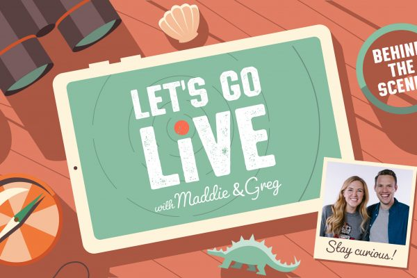 Behind-the-Scenes of Let's Go Live with Maddie and Greg