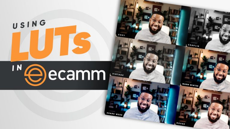 How to use a LUT in Ecamm Live