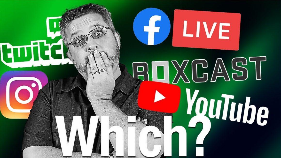 What Social Media Platforms Should I Live Stream To?