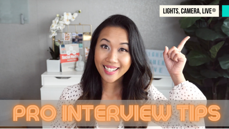 Pro interviewing tips