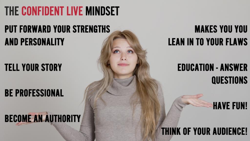 the confident live mindset