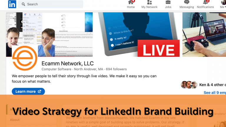 LinkedIn Live Video Strategy