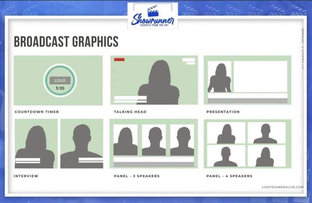live broadcast graphics