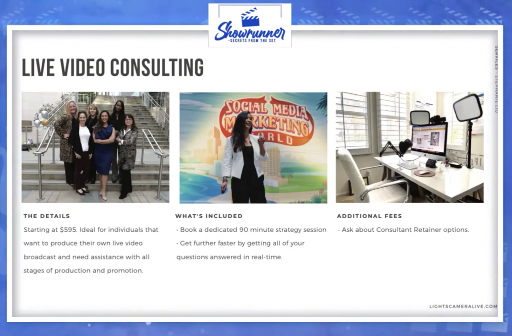 live video consulting