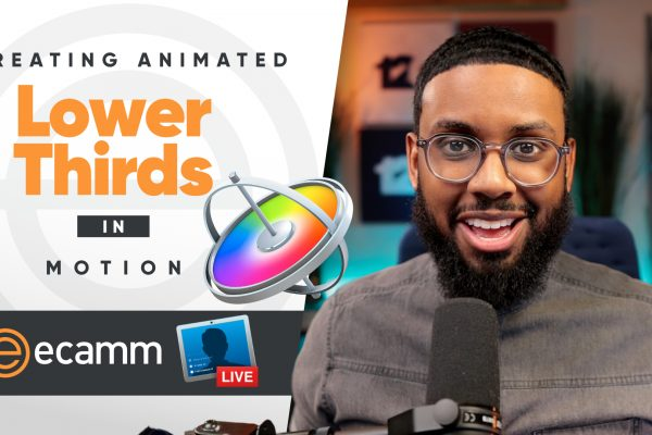 How to Create Animated Lower Thirds to use in Ecamm Live