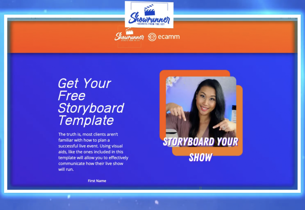 Get your free storyboard template