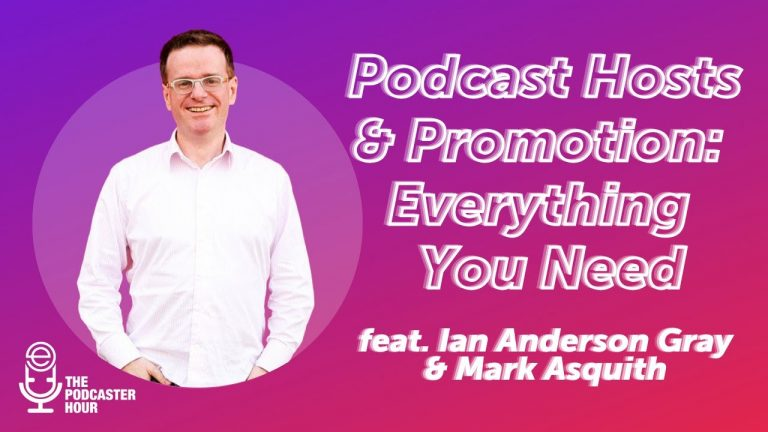 podcast hosts and promotion