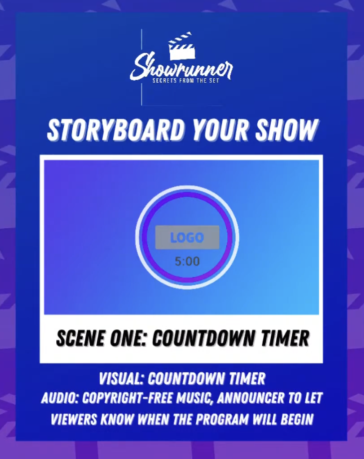 live video countdown timer