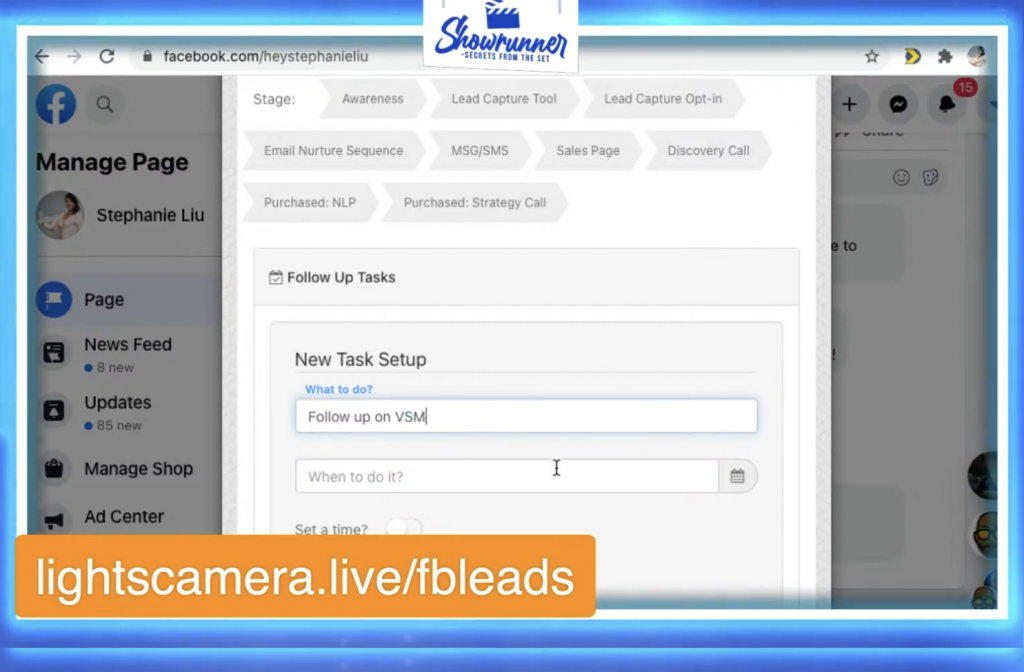 How to get Facebook leads from live video