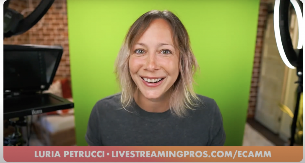 Luria from Live Streaming Pros hosts Go LIVE Now