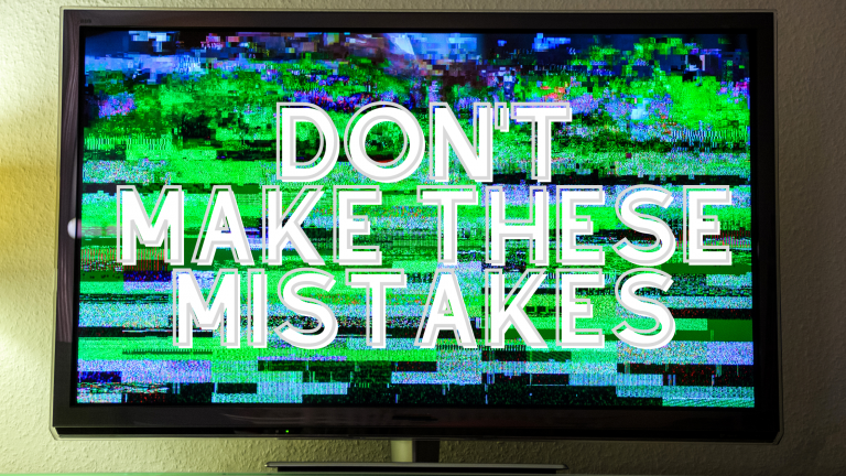 live streaming mistakes to avoid