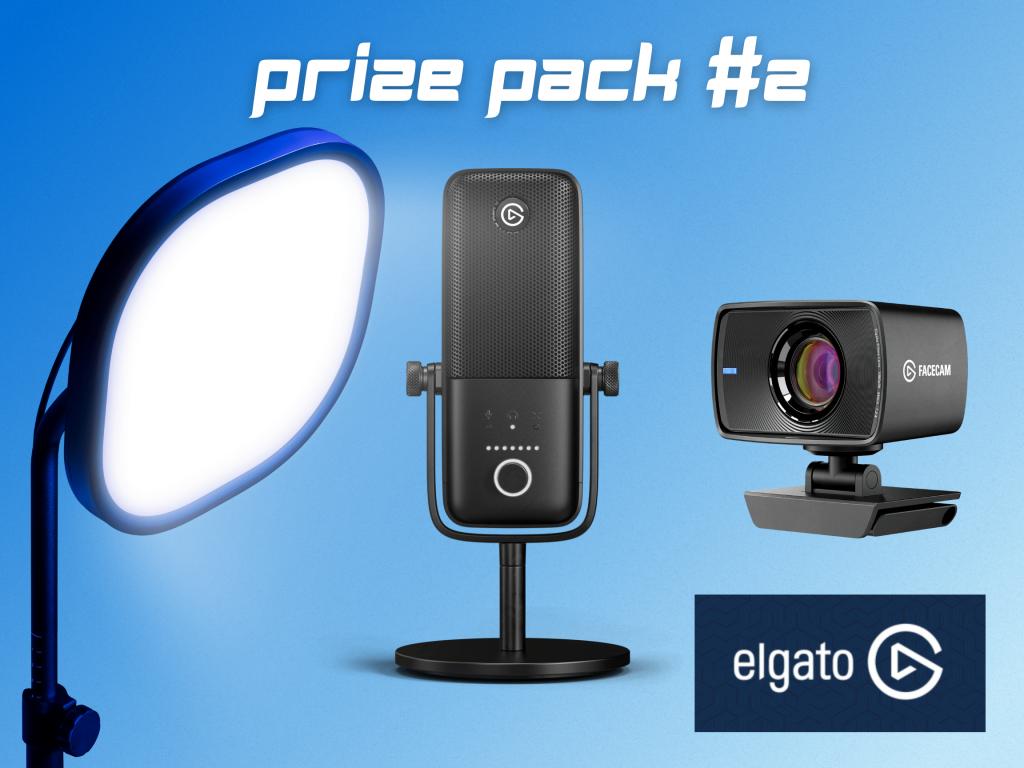 Ecamm Live giveaway prize pack 2